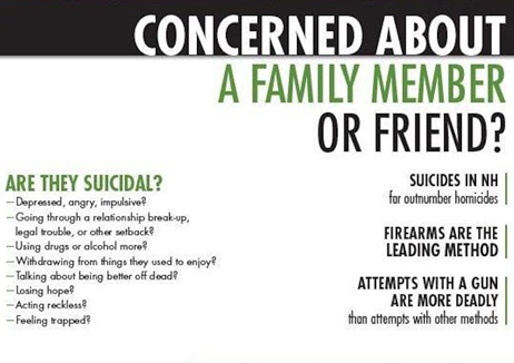 Unique campaign aims to prevent suicide by firearm