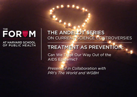 Live webcast: World AIDS Day, Dec. 1, 12:30 PM