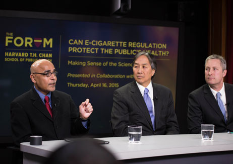 As e-cigarette use among youth triples, experts debate public health impact