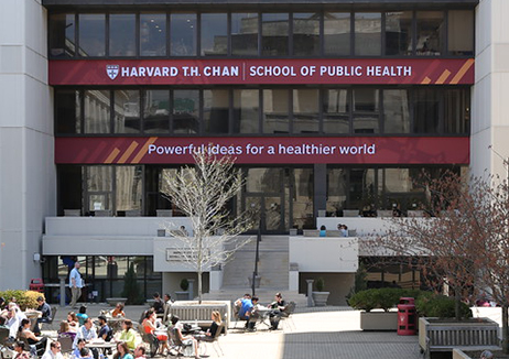 Banner Day at Harvard Chan School