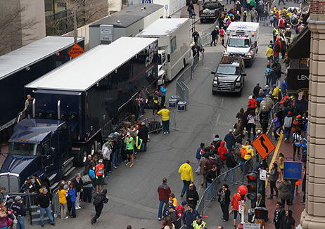 Flexible leadership saved lives following Boston Marathon explosions