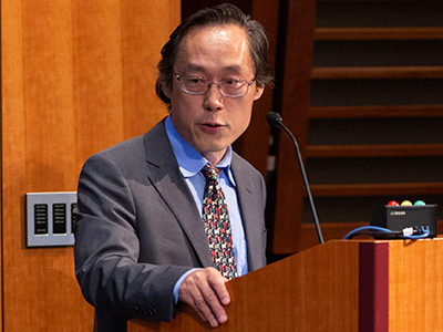 Frank Hu confronts the triple threats of obesity, undernutrition, and climate change