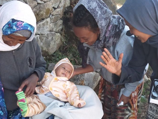 Addressing maternal and child health in Ethiopia