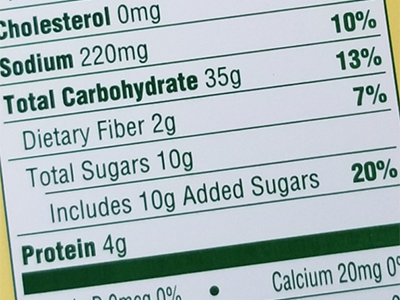 Small steps can make a difference in reducing sugar consumption