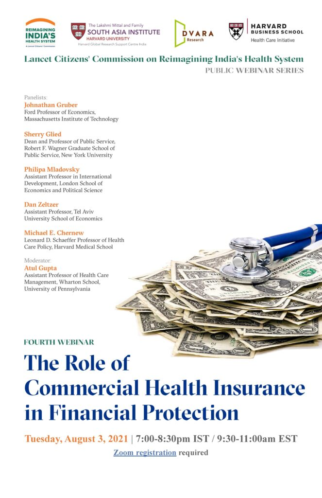 The Role of Commercial Health Insurance in Financial Protection
