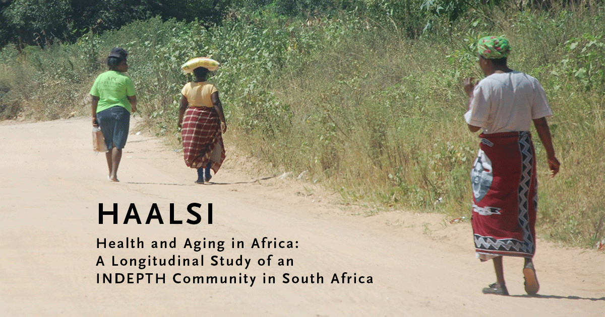 HAALSI website focuses on health of aging population of South African community