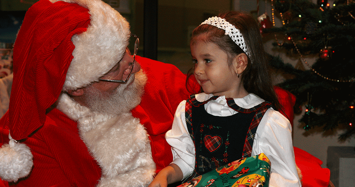 """Does socioeconomic status matter more to Santa than whether you've been """"naughty"""" or """"nice""""?"""