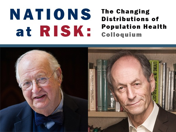 Special population health colloquium with Professor Sir A. Deaton and Professor Sir M. Marmot to be streamed live