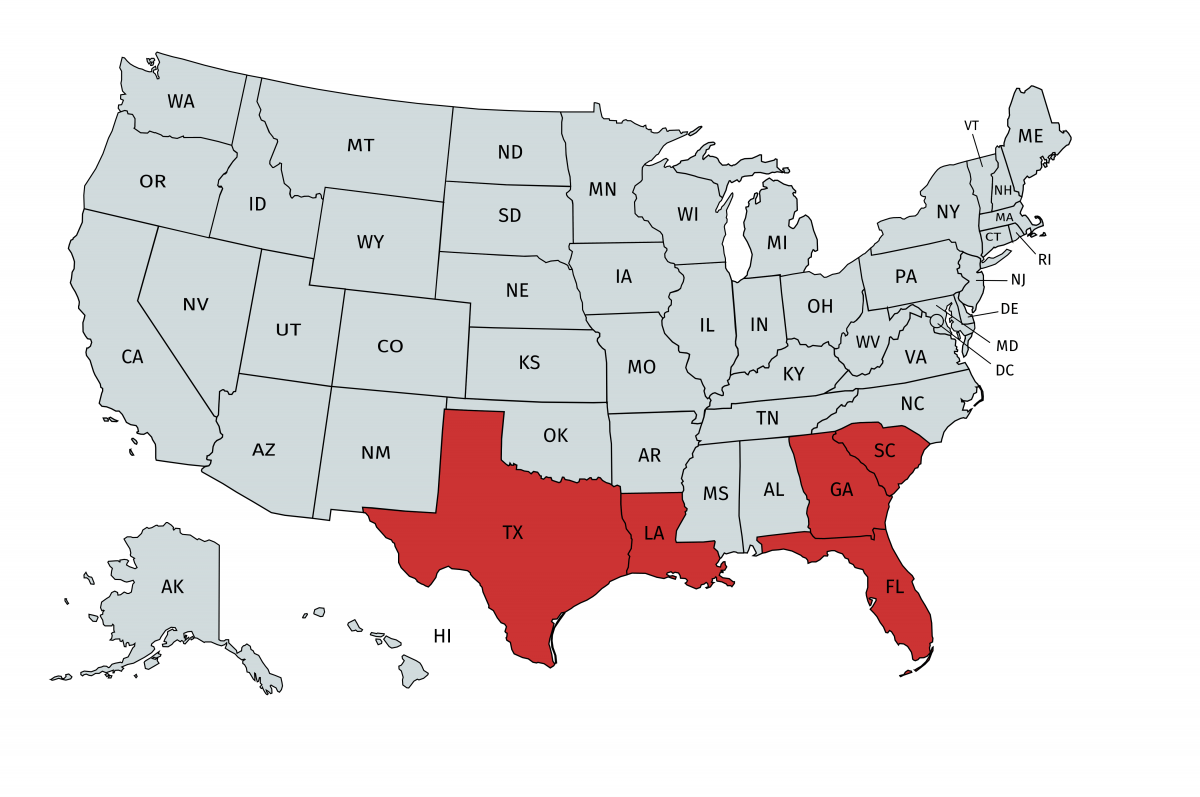 Prison release associated with HIV incidence in southern region of United States