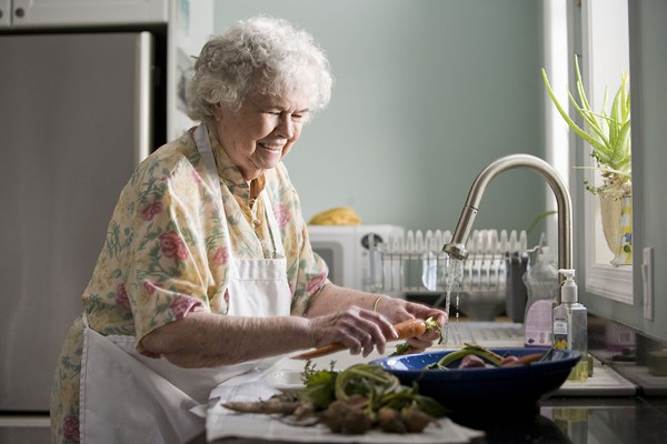 """Recommendations on how aging in place can support and promote """"the good life"""""""
