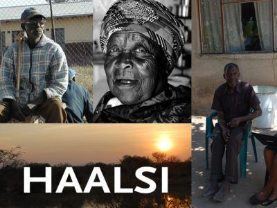 Older men and women in South Africa part of the HAALSI study