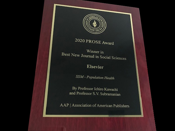 SSM Population Health wins a Prose Award for best new journal in social sciences