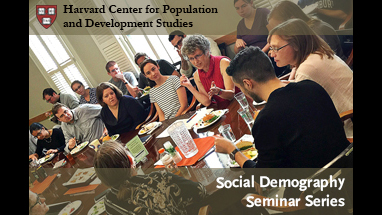 SDS Seminar at Harvard Pop Center