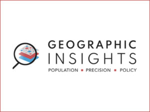 Geographic Insights Logo for HCPDS widget with red outline