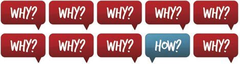 Why? How? logo