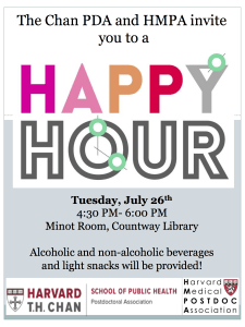 Chan HMPA Happy Hour July 2016
