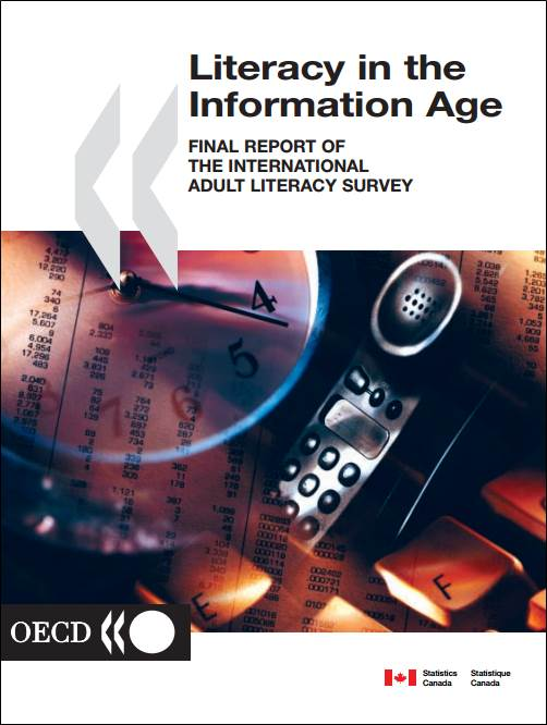 Literacy in the Infor · IALS cover
