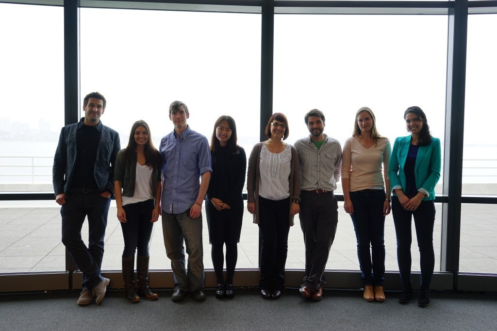 Lab Photo, Dept. Retreat May 2014