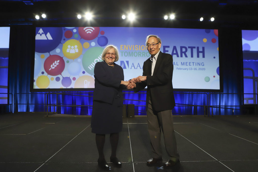 Wirth's induction as an AAAS fellow