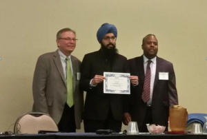 Dilpreet Singh   won the New Investigator Award at the National Nanotechnology Initiative international QEEN conference