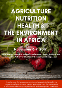 9th Annual Nutrition And Global Health Symposium Nutrition And