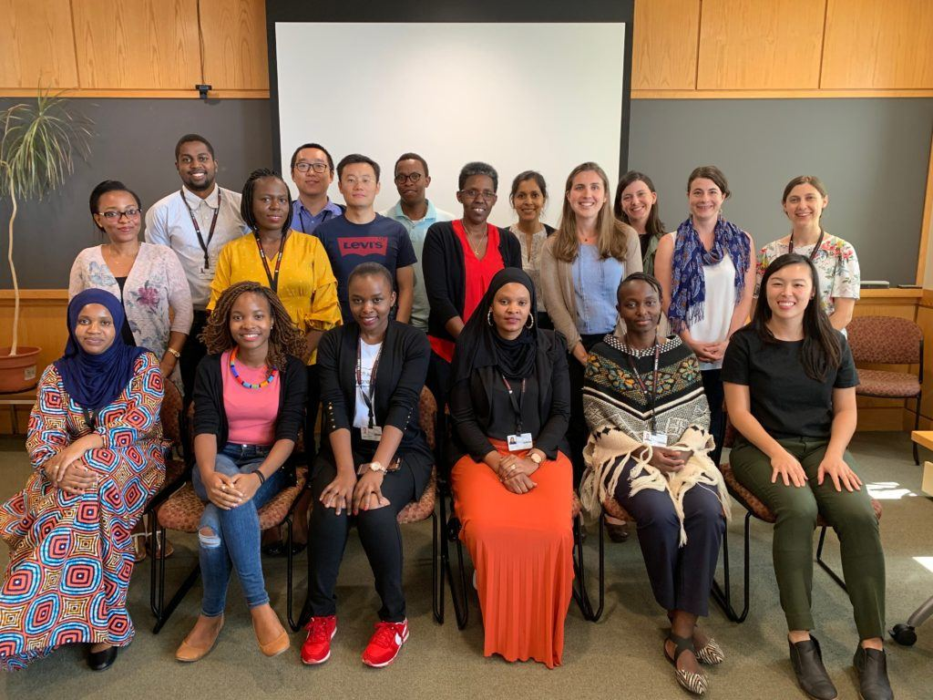 Summer 2019 trainees from the HIV Implementation Sciences and Global Infectious Disease Training Programs.