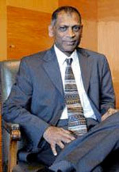 Dr. Leslie Ramsammy, Minister of Agriculture for Guyana