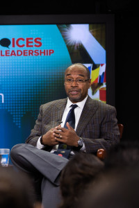Mark Smith speaks at Voices in Leadership