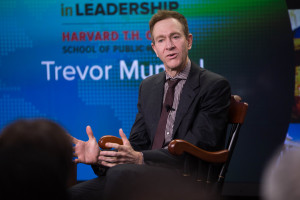 Trevor Mundel spoke in the Voices in Leadership Series in April 2015.