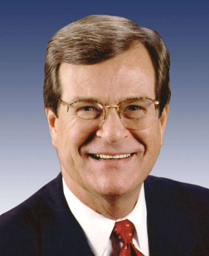Trent Lott, former U.S. Senate Majority Leader and Senator from Mississippi