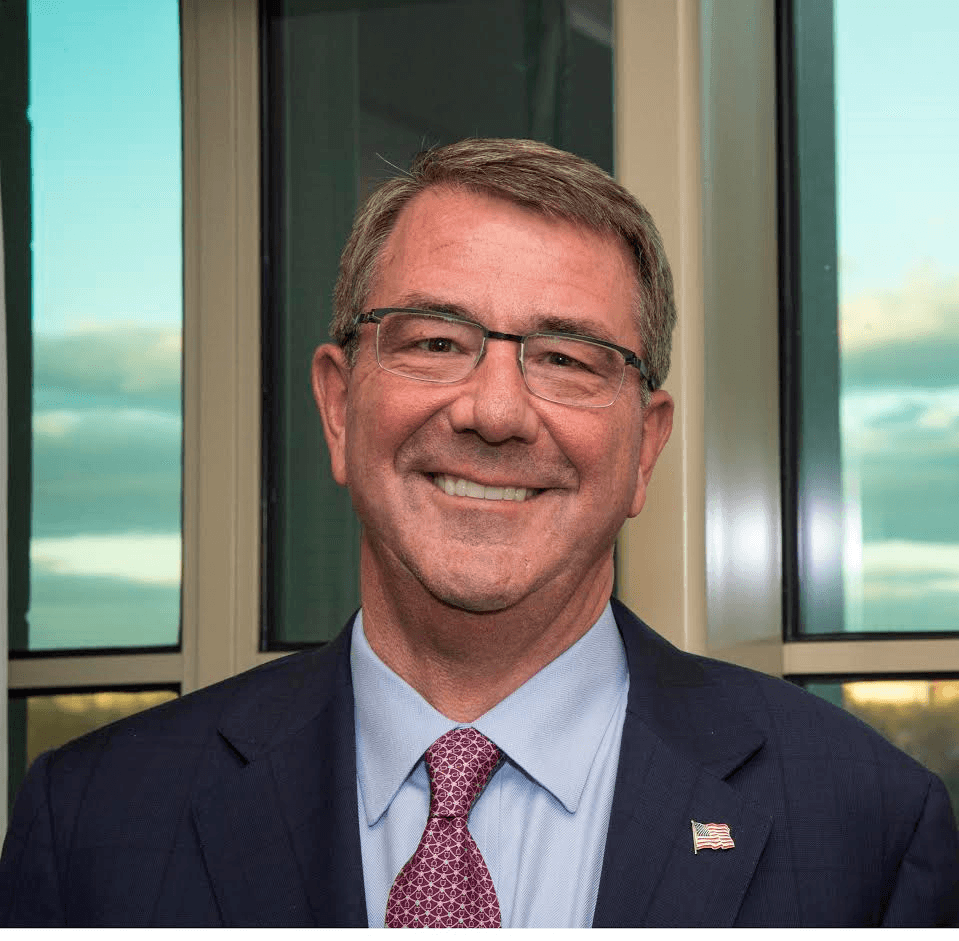 Ash Carter, former Secretary of Defense for the United States