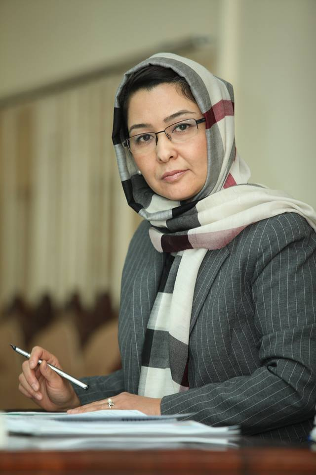 Suraya Dalil, former Minister of Public Health for Afghanistan