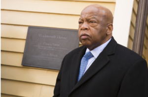 U.S. Rep. John Lewis, at Wadsworth House, Harvard University.