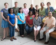 HSPH's 2007 Quantitative Sciences program, led by (far right) instructor Andy Houseman, director Rebecca Betensky, and (front row, second from left) coordinator Catherine Haskell, included college students from across the U.S., all potential innovators in biostatistics and epidemiology.