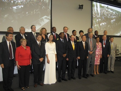 HSPH Dean Frenk joins world leaders in Millennium Development Advocacy Group