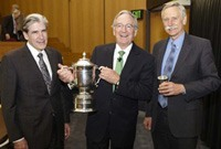 Sen. Tom Harkin received Healthy Cup