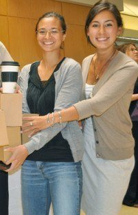 """Participants recognized for """"taking the stairs"""" in HSPH eco-campaign"""
