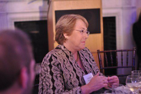 Dr. Michelle Bachelet, executive director of UN Women and former president and health minister of Chile