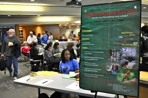 Challenges of eradicating malaria outlined at World Malaria Day Program at HSPH