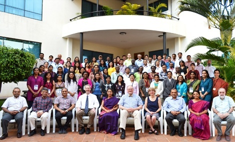 Faculty and students from the 2013 Bangalore Boston Nutrition Collaborative course.