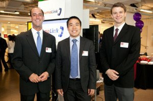 Members of Team TraumaLink: Jon Moussally, Ryan Fu, and Eric Dunipace