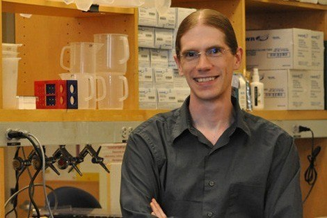 Curtis Huttenhower, assistant professor of computational biology and bioinformatics