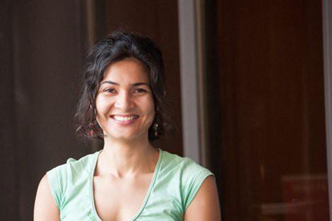 Neha Khandpur, of India, HSPH's first Prajna Scholar
