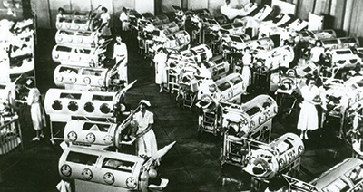 The iron lung pulled back thousands of polio victims from the brink of death.