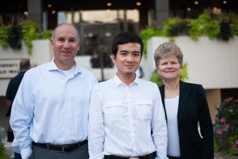 Taiwan food scandel's Justin Yang, Rose Goldman and Russ Hauser