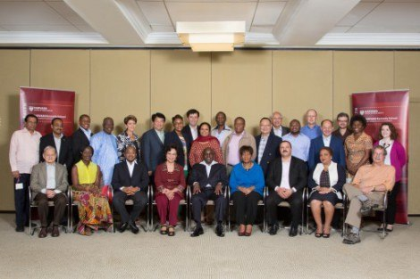 Participants in the Ministerial Health Leaders' Forum in June 2013 at Harvard Kennedy School