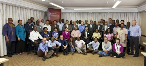 Health ministry officials at a workshop in South Africa in mid-October, part of the Ministerial Health Leaders Forum.