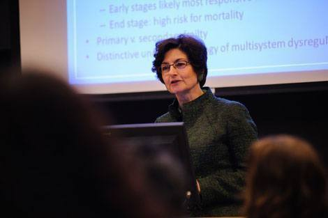 Geriatrician Linda Fried, Dean of Columbia University's Mailman School of Public Health