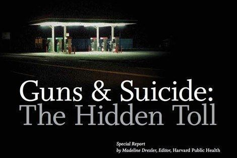 Guns and Suicide article cover
