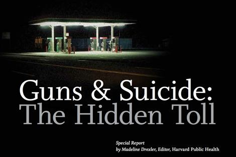 Harvard Public Health article on guns and suicide wins top award | News | Harvard T.H. Chan ...